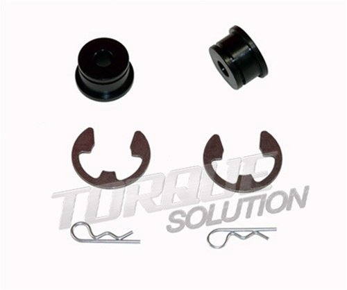 Torque Solution Shifter Cable Bushings: Mitsubishi Evolution VII-IX 2001-06 (6Spd)