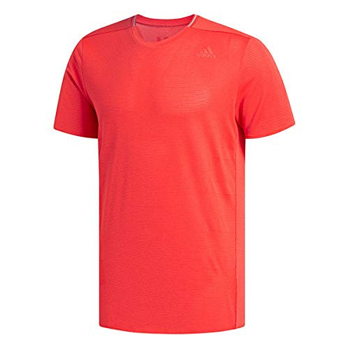 adidas Men's Supernova Tee - Color: High-Res Red Size: S ()
