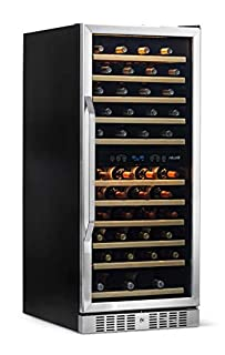 NewAir AWR-1160DB Wine Cooler, 116 Bottle, Stainless Steel/Black (B015GM9QV0) | Amazon price tracker / tracking, Amazon price history charts, Amazon price watches, Amazon price drop alerts