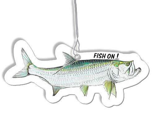 Tarpon Hanging - Fish On! Air Freshener (Tarpon)