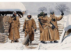 Dragon 1/35 German Infantry in Wachtmantel, Leningrad 1943 (4 Figures Set)