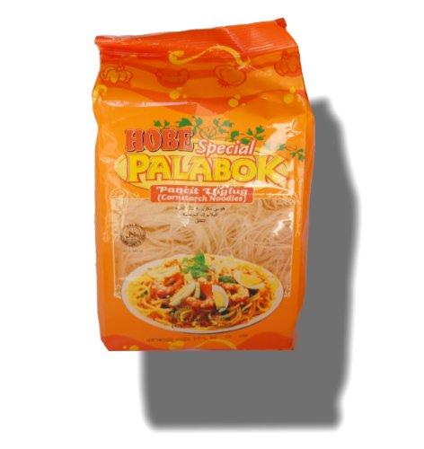 Hobe Special Palabok Pancit Luglug (Cornstarch Noodles) Hal-al 16oz./454g (Best Pancit Canton Recipe)