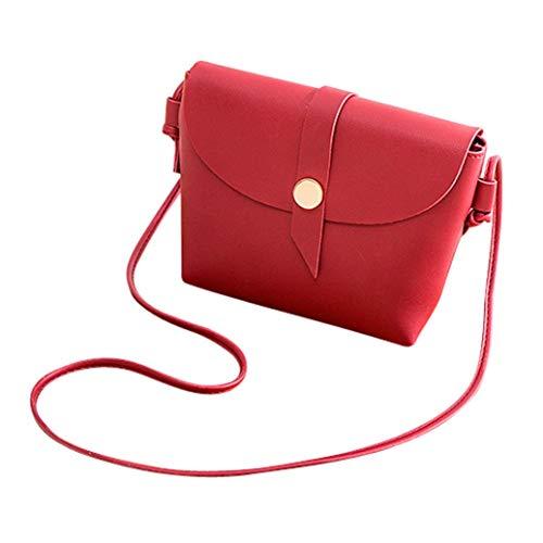 Satchel Bag Tote Shoulder Women Bucket Bag Bag Red EUzeo Phone Messenger Crossbody Bag xFf0Iq