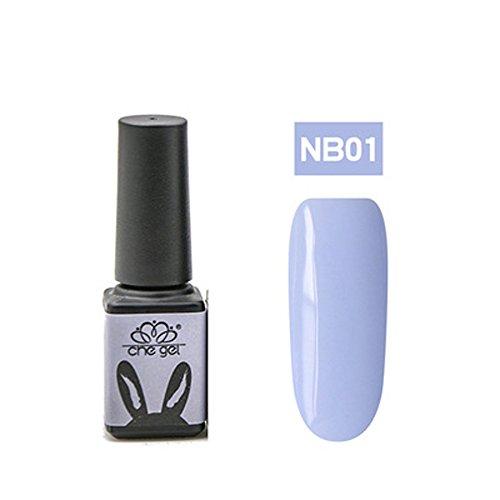 Nail UV Gel Polish Soak Off Nail Art Topcoat Cat Powder Wax Blue Gel