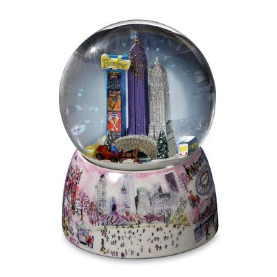 Storrings NYC Central Park Musical Water Globe by The San Francisco Music Box Company -