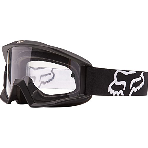 - 2016 Fox Racing Main Goggle - Matte Black Clear Lens
