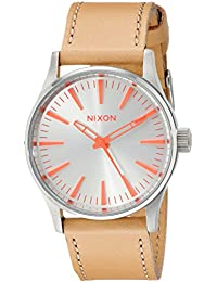 Womens A3772089 Sentry 38 Stainless Steel Boyfriend-Style Watch. NIXON