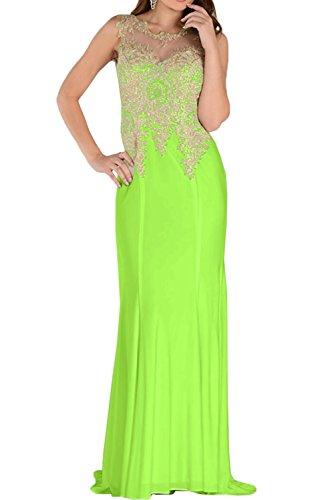 Festkleid Rundkragen Ballkleid Spitze Damen Ivydressing Promkleid Abendkleider 2017 Grün c70Wt6