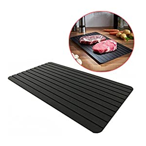Greatstar Fast Defrosting Tray, The Safest Way to Defrost Meat or Frozen Food Quickly Without Electricity,Home Necessary