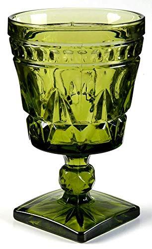 Colony Park Lane Green Glass ( 5 3/8