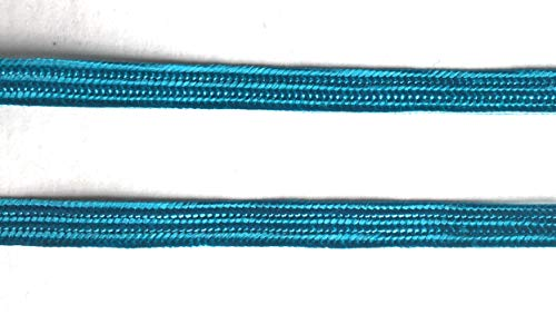 Weave Middy Braid Turquoise Trims 1/4