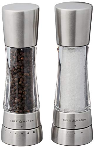 COLE & MASON Derwent Salt and Pepper Grinder Set