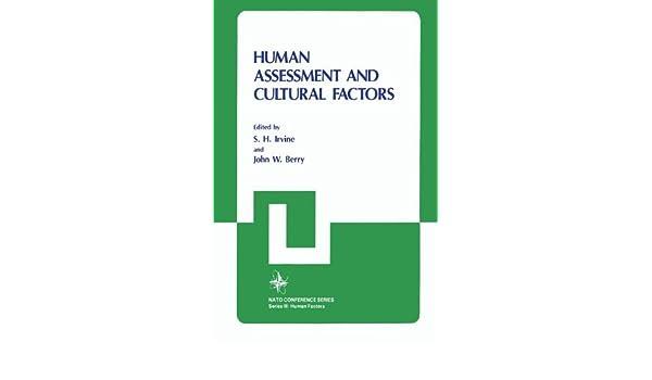 Human Assessment and Cultural Factors