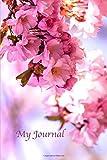 My Journal. Cherry Blossom Cover Design. Blank