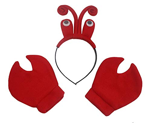 Latex Giant Crab Claws Cosplay Amor Golves Novelty Toy Costume Props...