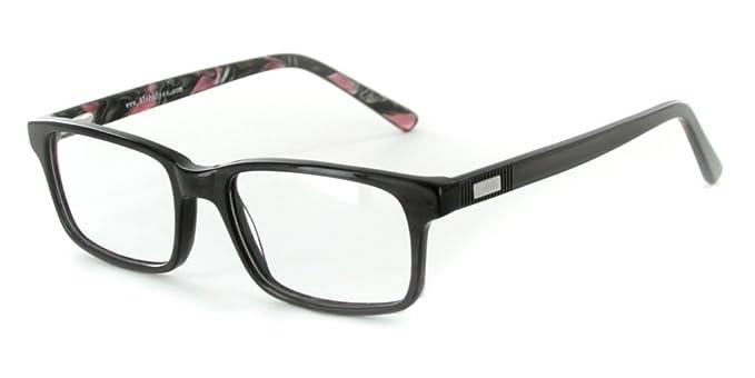 aloha eyewear unisex denali optical quality rx able wayfarer frames 52x18x145mm