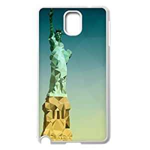 Samsung Galaxy Note 3 Cases statue of liberty low poly, Design Statue Of Liberty Cases Sexyass, {White}