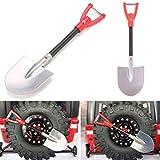 AOWA 1Pcs RC Crawler 1:10 Accessories Metal Shovel For RC SCX10 D90 Crawler Car Tools