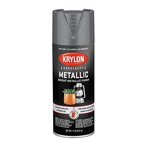 - Krylon K01403 Special Purpose Metallic Paint, Dull Metallic, 11 ounce