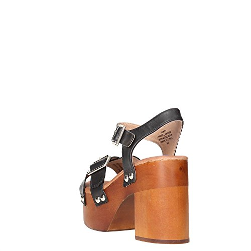 Jeffrey Campbell Peasy Leather - Zapatos de vestir Mujer Black