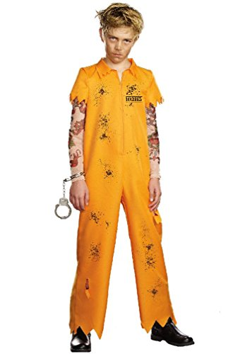 8eighteen Escaped Convict Prisoner Jail Child Costume (Convict Lady Plus Size Costume)