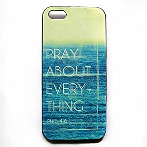 LIMME Verse Phrase Pattern Hard Case for iPhone 4/4S