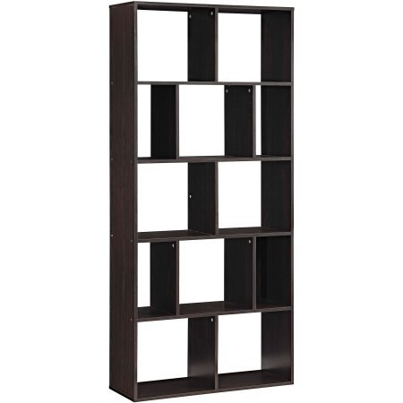 Home 12-Shelf Bookcase - Espresso by Mainstay