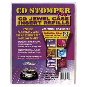 Avery 98109 Jewel case Inserts for cd Stomper pro Labeling System, White Matte, 25/Pack