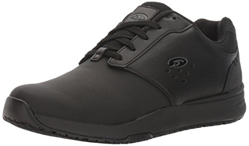 Dr. Scholl's Shoes Men's Intrepid Work Shoe, Black, 12 M US