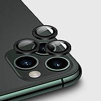 Apple iPhone 11 Pro CL-02 Kamera Lens Koruyucu Siyah