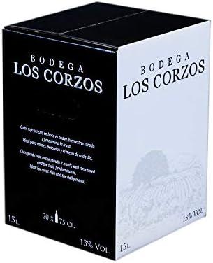 Bag in Box 15L Vino Tinto Recomendado Bodega Los Corzos