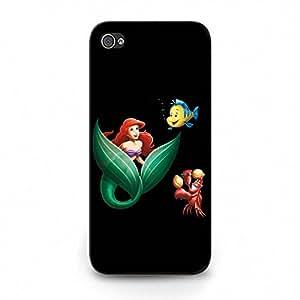 Cute Classic Ariel The Little Mermaid Iphone 5c Phone Case, Little Mermaid Ariel Princess Protective Case Cover