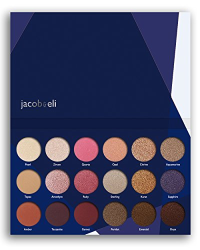 Bronzing Stick (18 Super Pigmented - Top Influencer Professional Eyeshadow Palette all finishes, 5 Matte + 9 Shimmer + 4 Duochrome - Buttery Soft, Creamy Texture, Blendable, Long Lasting (Hidden Gems))