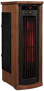 Duraflame 5HM8000-O142 Portable Electric Infrared Quartz Oscillating Tower Heater, Oak