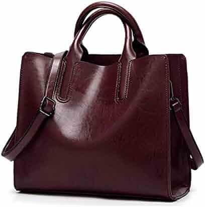 b92764a1eb1 Chibi-store PU Leather Large vintage Handbags Women Purse Shopper Totes  Designer sac a main