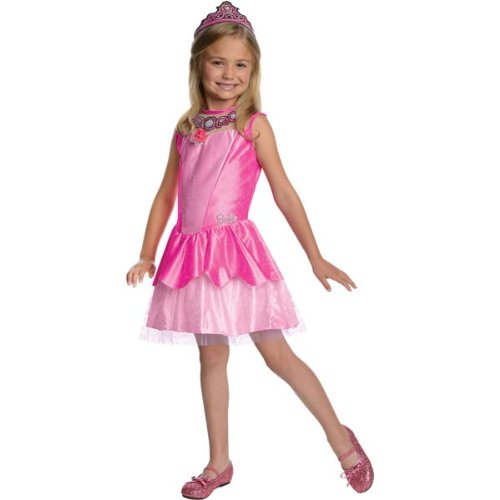 [Barbie in The Pink Shoes Halloween Sensations Kristyn Costume, Toddler 1-2] (Barbie Fancy Dress Costumes)