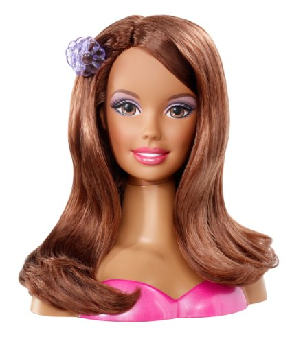 Admirable Amazon Com Barbie Styling African American Head Quotsmallquot Toys Amp Games Short Hairstyles Gunalazisus