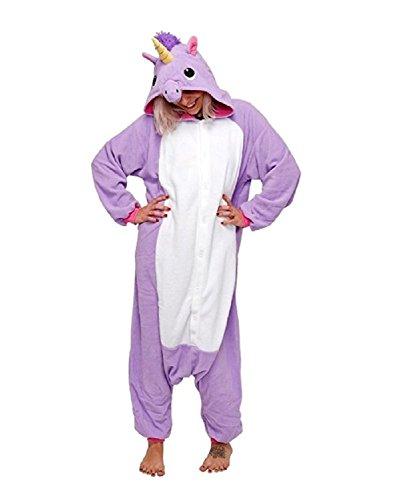 Cosplay Unicorno Animale Viola Natale Monkey Costume Kika Pigiama Unisex wq1HxpEX