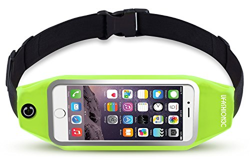 uFashion3C Running Belt Waist Pack for Phone and Keys - fits