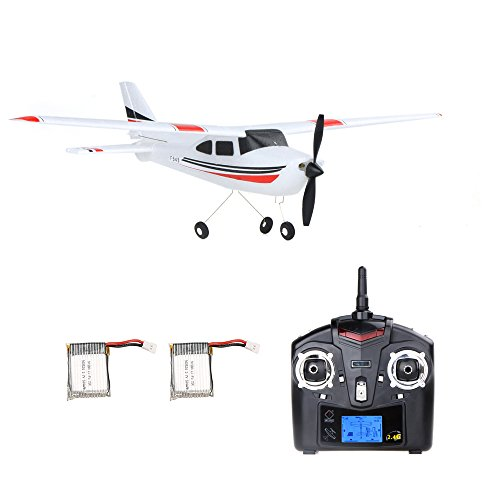 Goolsky Wltoys F949 2.4G 3CH RC Airplane Fixed Wing Plane Outdoor Toys with One Extra Battery