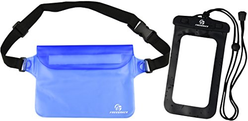 Waterproof Waist Pouch with IPX8 Phone Case - Best Way to Keep Your Phone  and Valuables Dry and Safe - Perfect for Boating Swimming Snorkeling