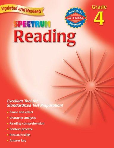 Spectrum Reading, Grade 4 -