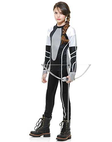 Charades Survivor Jumpsuit Child Costume-Small