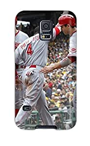 3622122K533716179 cincinnati reds MLB Sports & Colleges best Samsung Galaxy S5 cases Kimberly Kurzendoerfer
