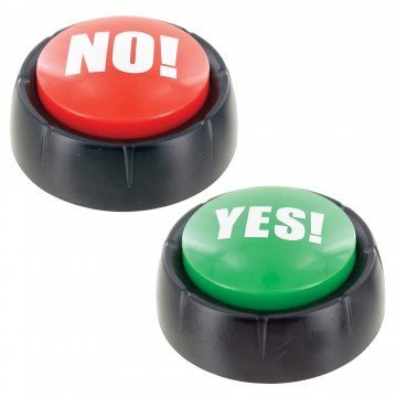 (Talking Yes & No Buzzer Buttons)