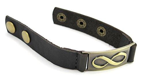 1000 K 'manières femmes Designs Infinity, Bracelet en cuir, ajustable