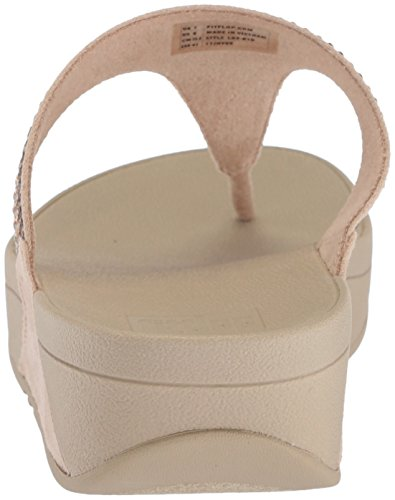 Fitflop Donna Strobe Luxe Toe-thong Sandalo Oro
