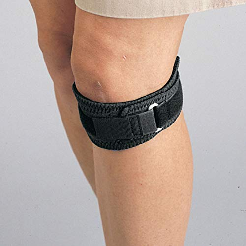Sammons Preston Neoprene Patellar Band, Multiple Colors, Universal Size Knee Straps for Reducing Tension of The Patella Tendon, Compression Knee Strap Helps Relieve Pain, Jumpers Knee, Tendonitis