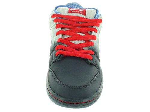 Zapatillas Nike Dunk Sb baja prima del patín dk mgnt grey/wht/uni rd