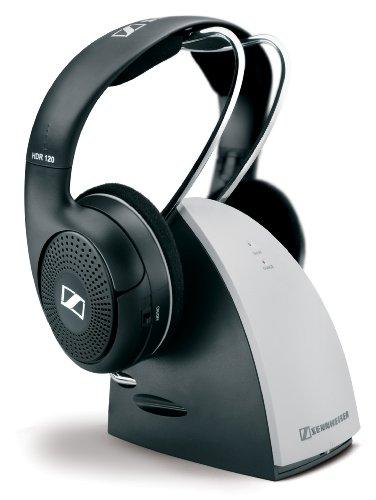 Sennheiser  RS120 On-Ear 926MHz Wireless RF Headphones with Charging Cradle